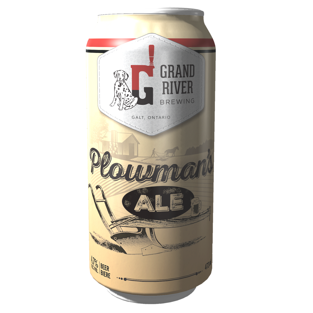 GRB PLOWMANS ALE CAN 473ML