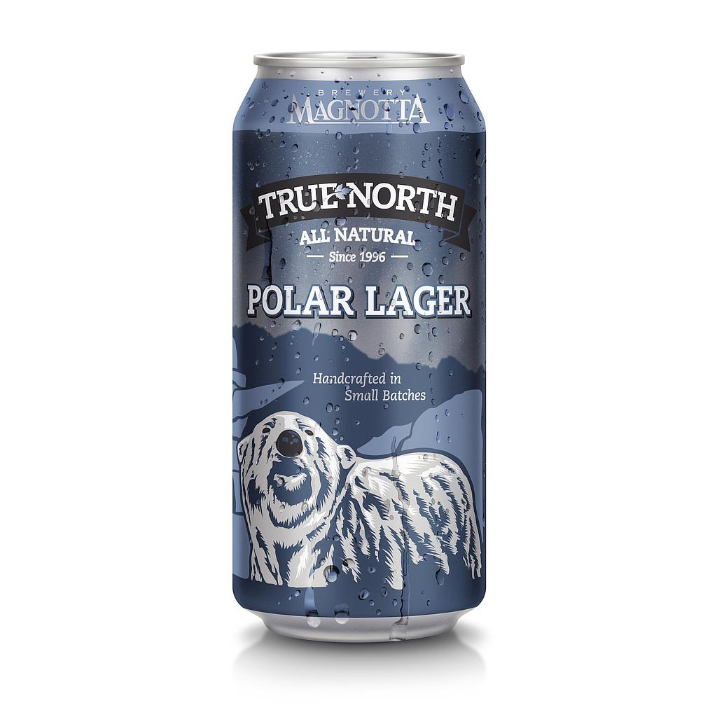 MB TRUE NORTH POLAR LAGER CAN 473ML