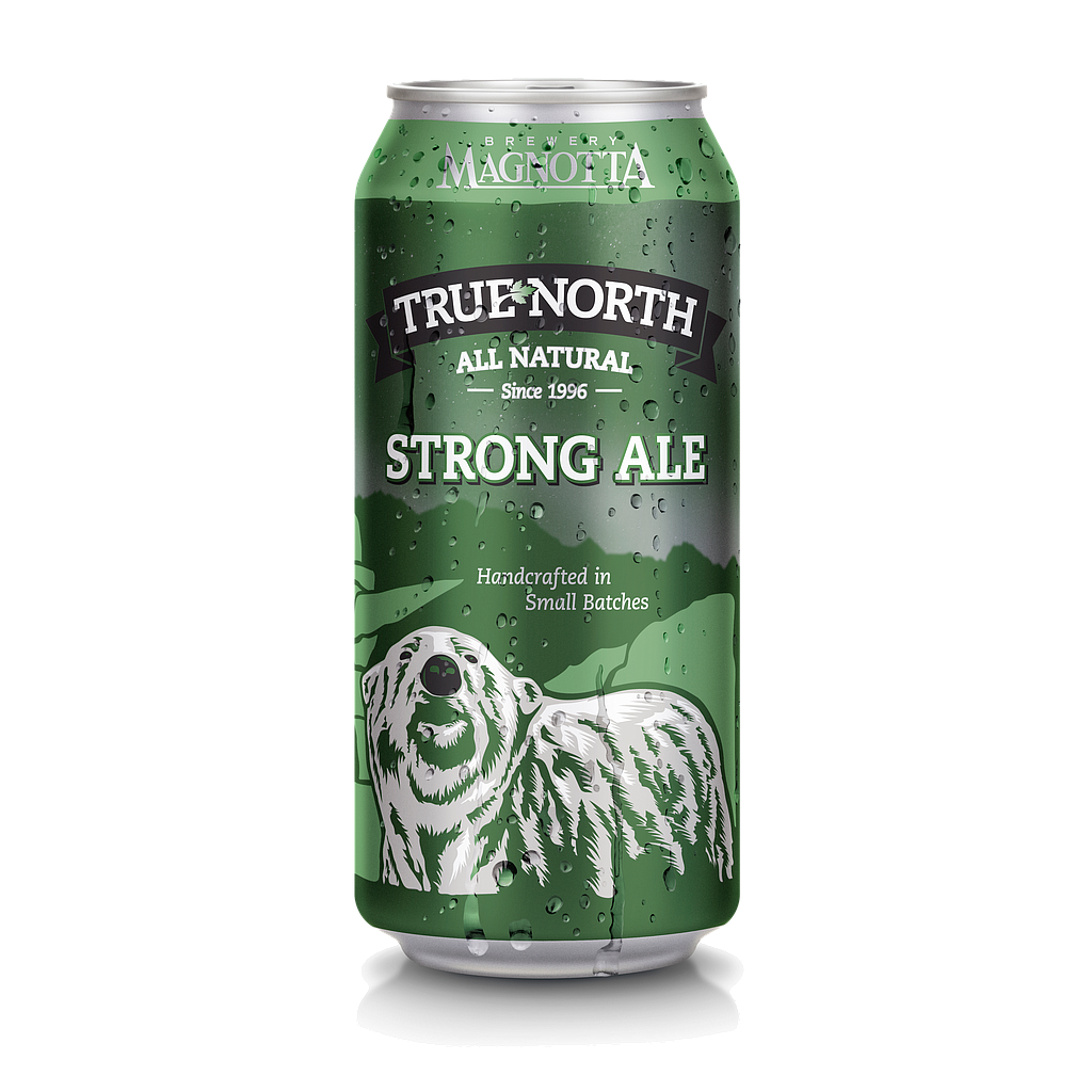 MB TRUE NORTH STRONG ALE CAN 473ML