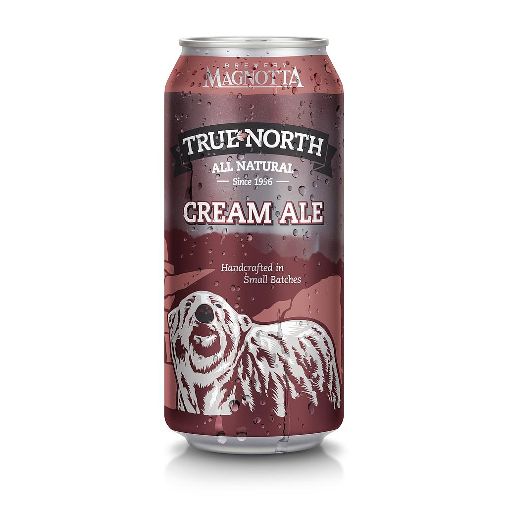 MB TRUE NORTH CREAM ALE CAN 473ML