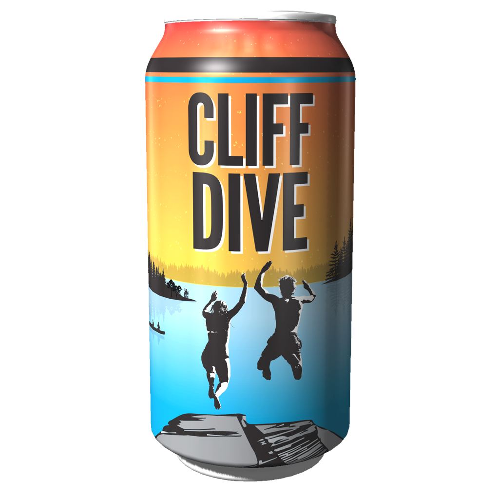 GRB CLIFF DIVE IPA CAN 473ML